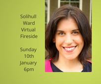 Solihull Fireside with Dina Alexander - 10 Jan 2021 at 6pm