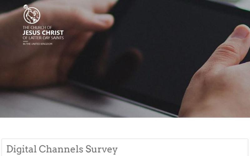 Digital Channels Survey