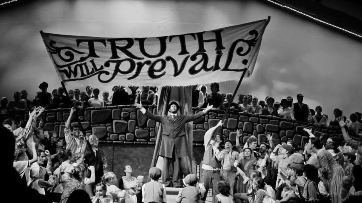 The British Pageant: Truth Will Prevail