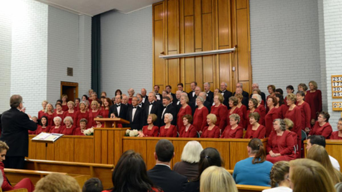 A Special Visit from The Southern Utah Heritage Choir
