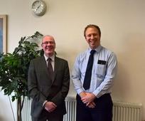 Aberdeen Bishop hosts Member of the Scottish Parliament