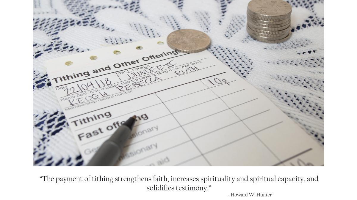 Tithing Slip