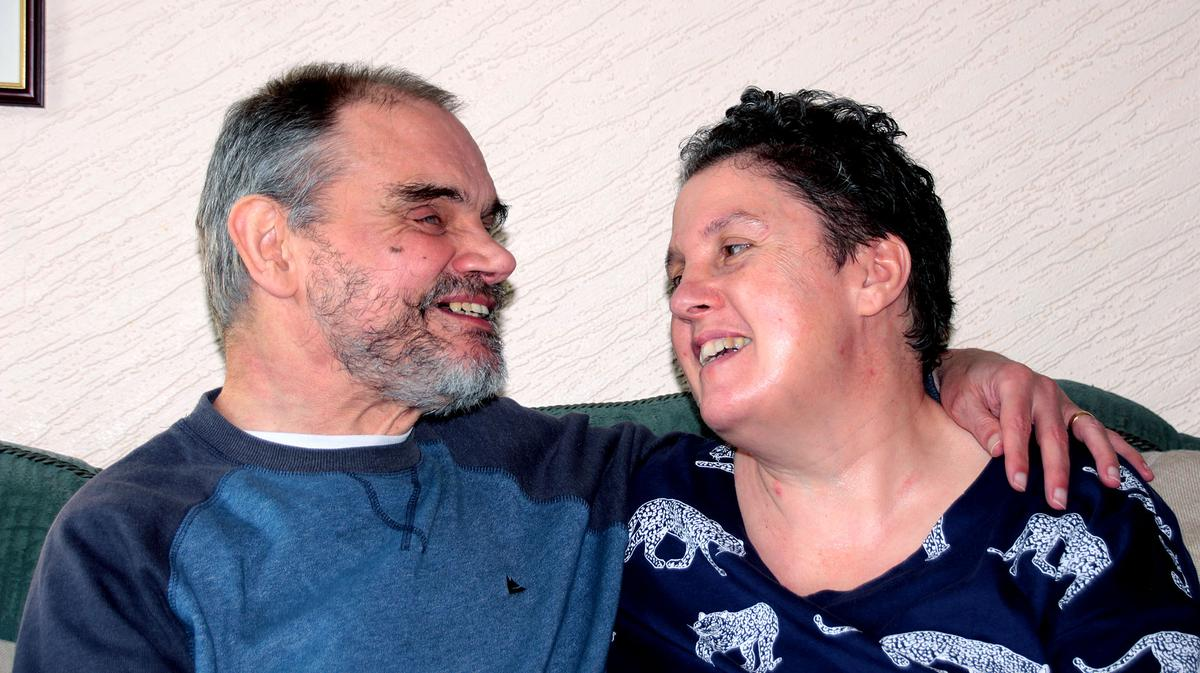 Geoff and Judith
