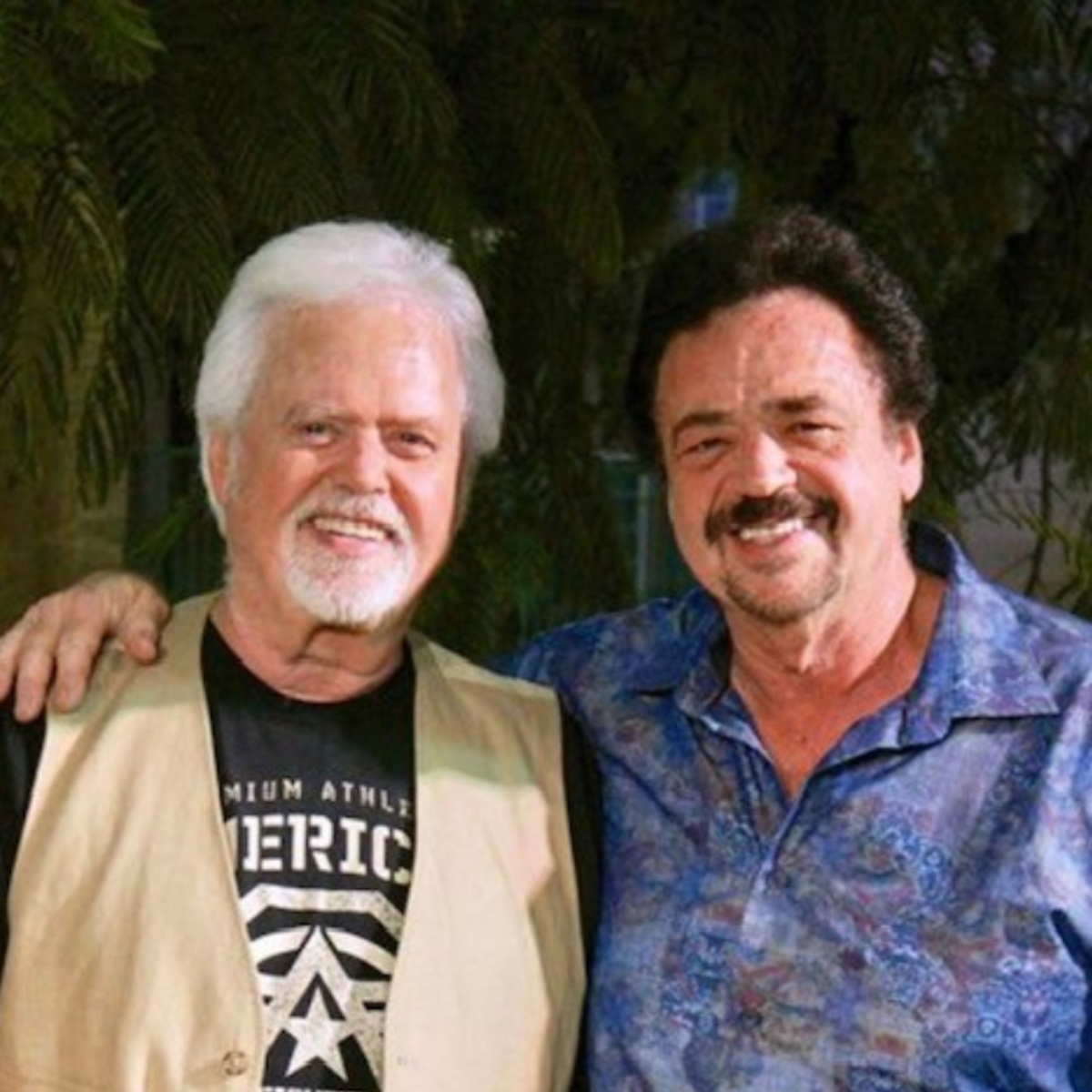 Jay and Merrill Osmond