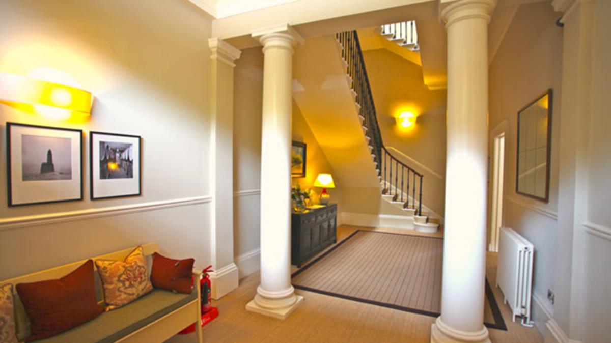 Inside 2 Hillside Crescent, Edinburgh