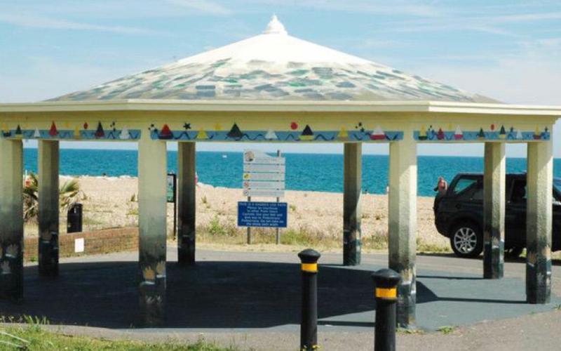 Beach Green Bandstand in Brighton