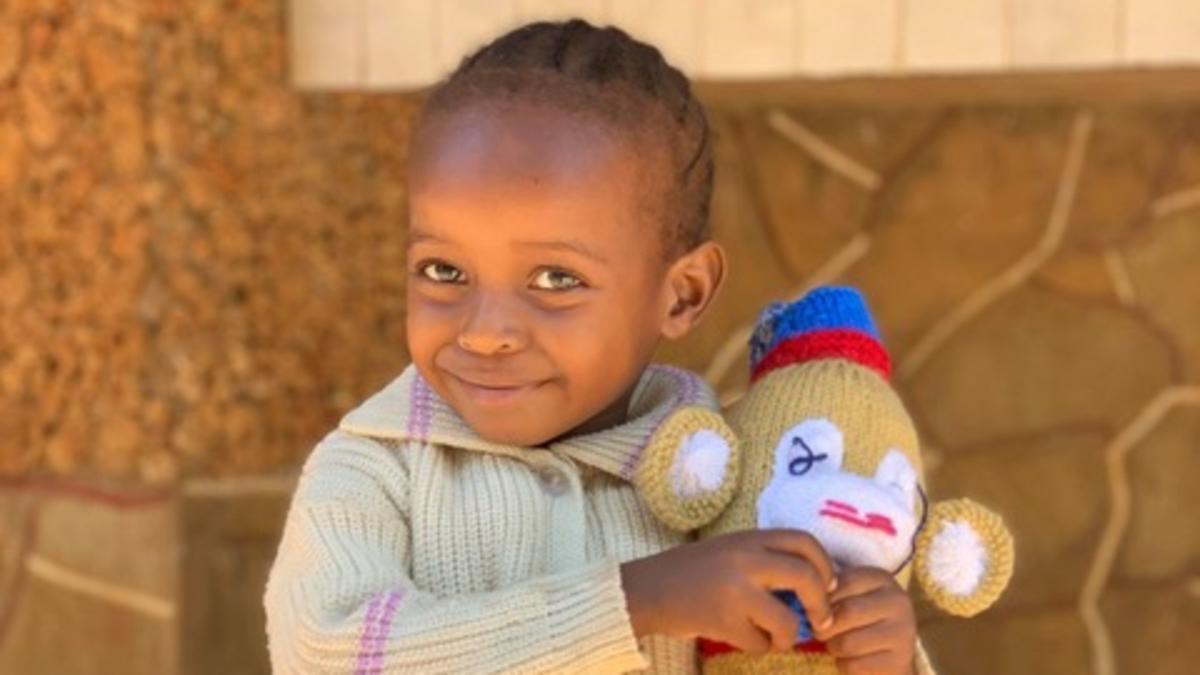 Kenyan child