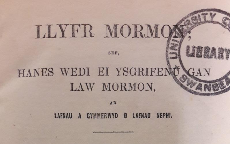 Welsh Book of Mormon