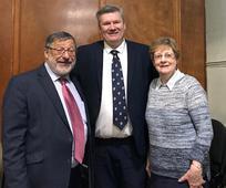 Rabbi Warren Elf, Bishop James Holt, Sandy Maclean