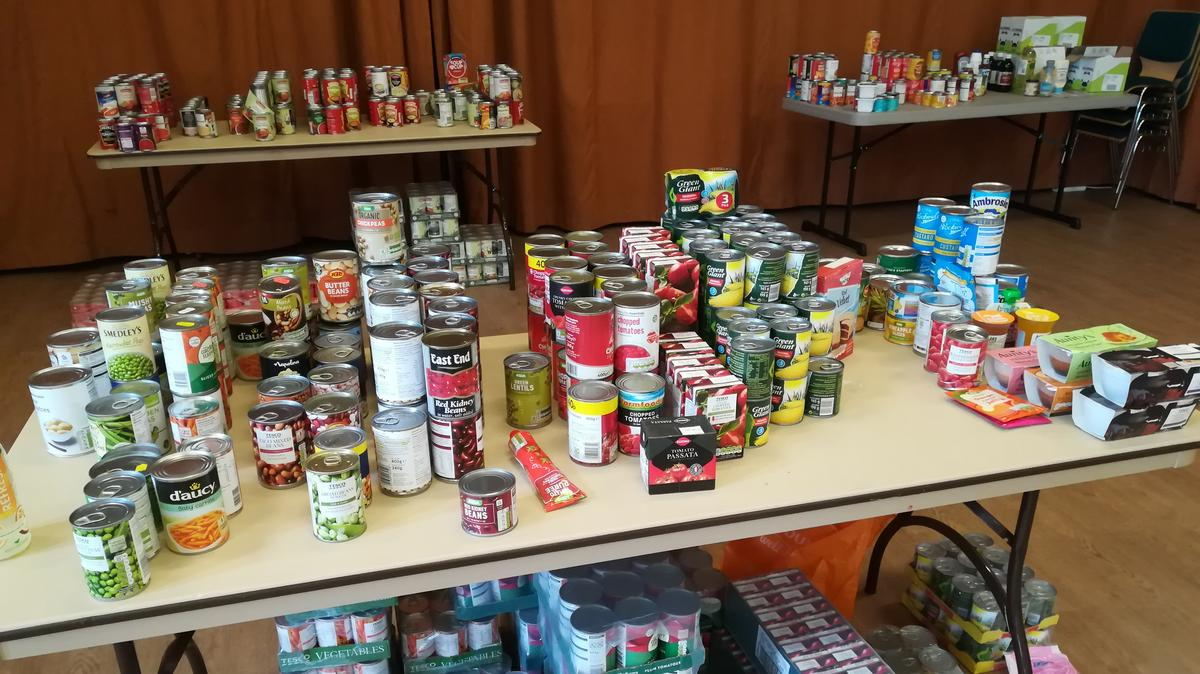 Food donated