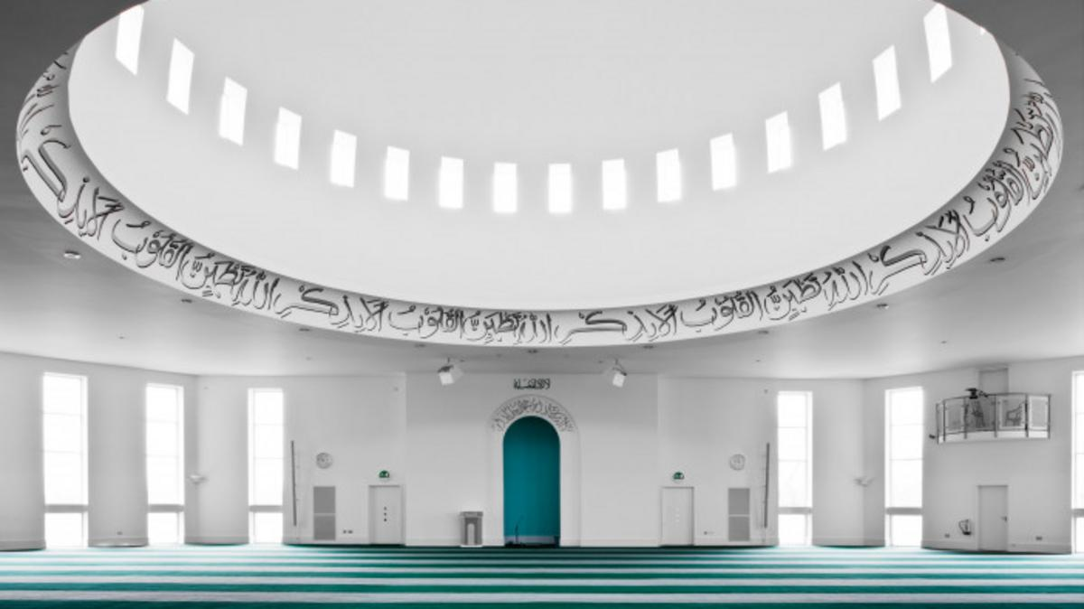 Inside muslim Building