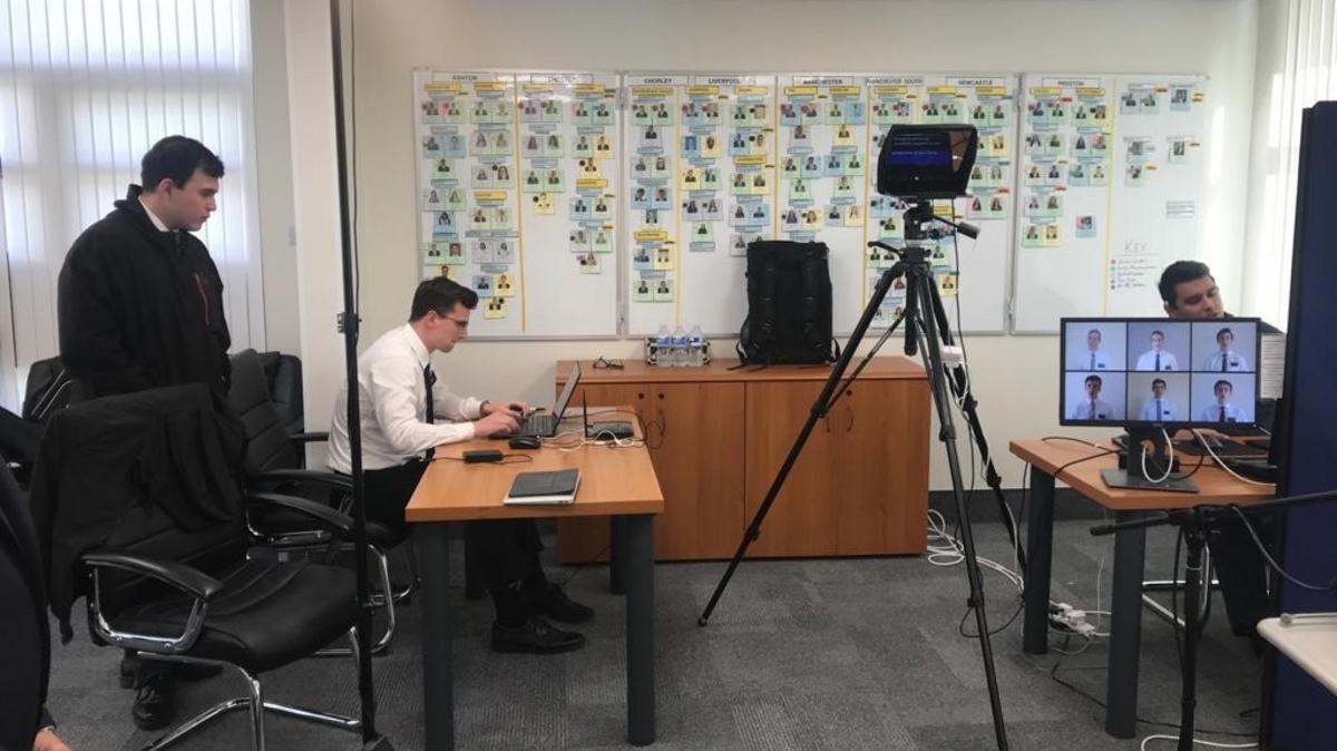 EMM Tech Elders working behind the scenes