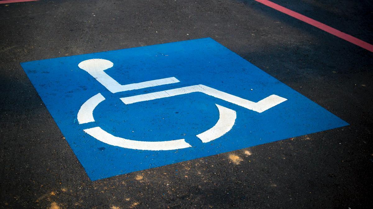wheelchair parking sign