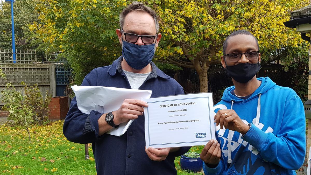 Volunteer Hero Award Certificate