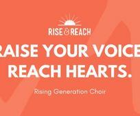 Raise Your Voice. Reach Hearts.