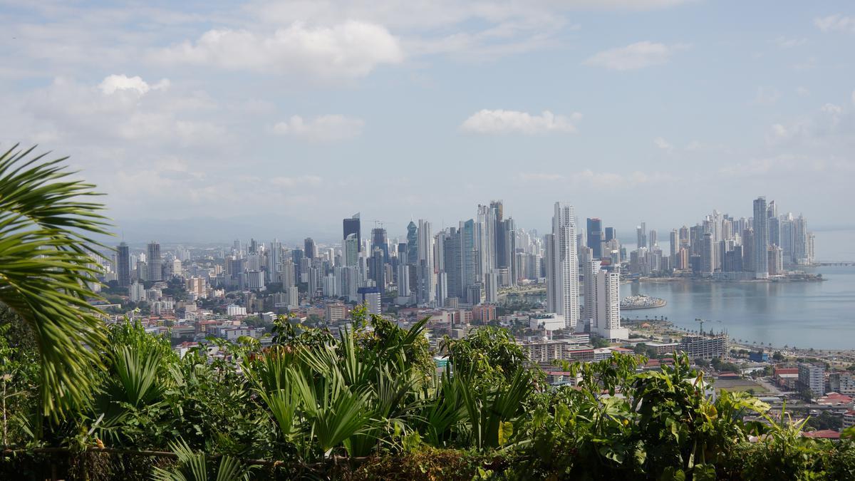 Una vista de la ciudad de Panamá