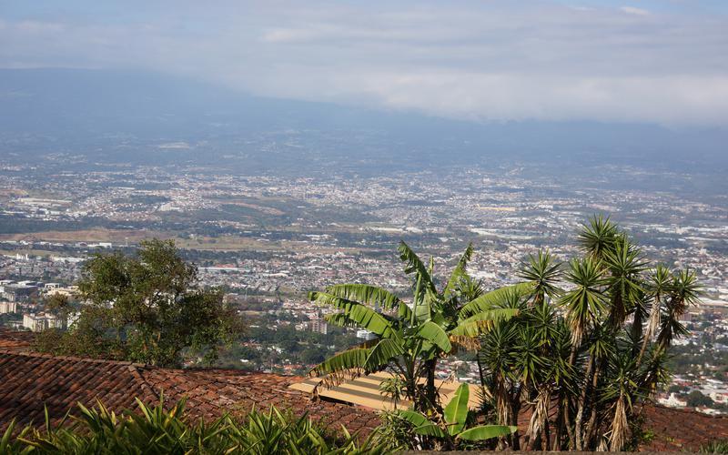 Una vista panorámica de Costa Rica