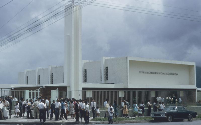 La capilla SUD localizado en San Salvador 1966