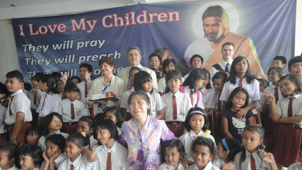 Bakti Sosial Misi Kesejahteraan Gereja