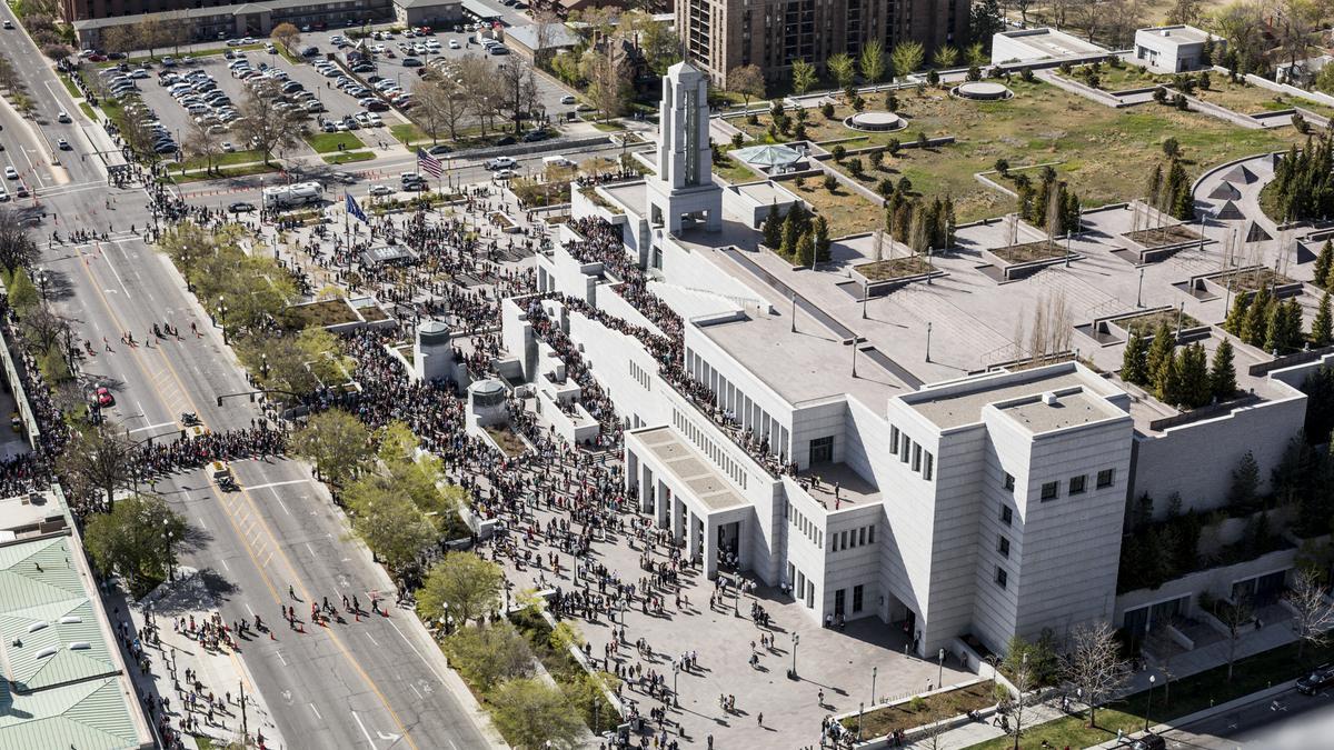 컨퍼런스 센터 상공 사진