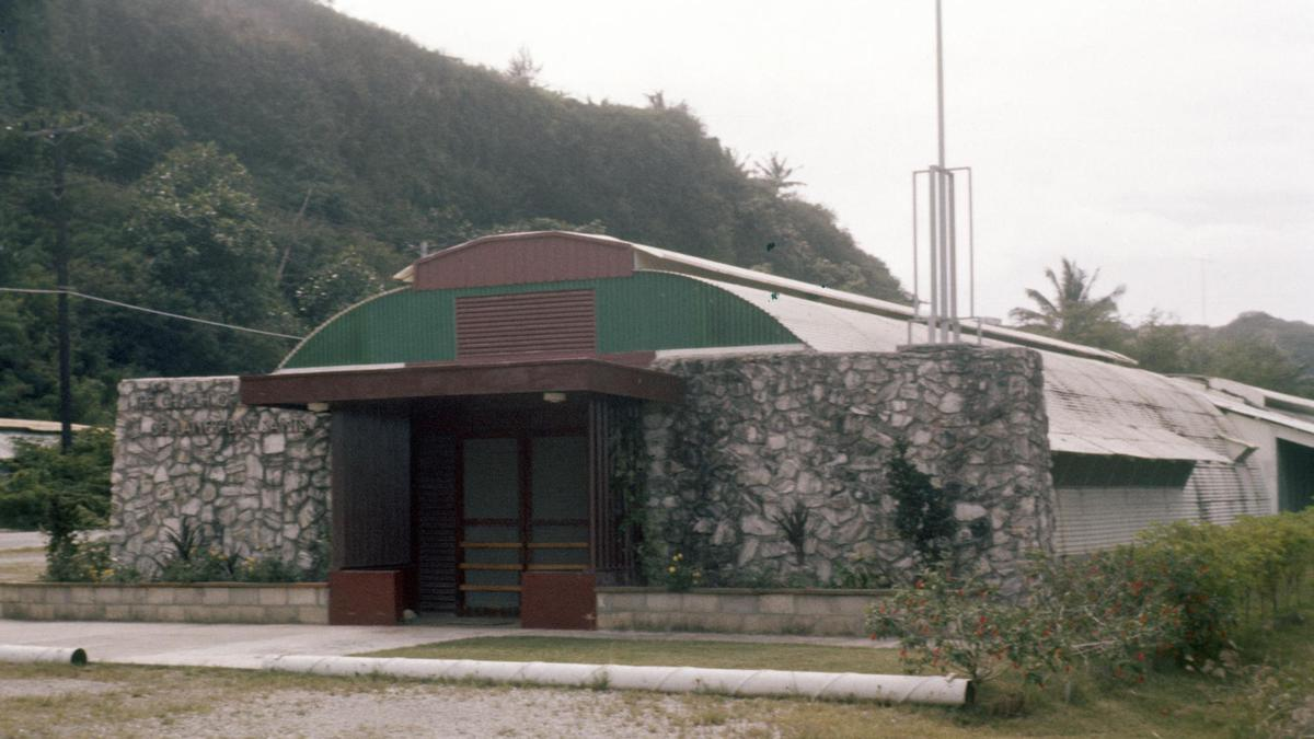 괌의 첫 번째 예수 그리스도 후기 성도 교회 예배당
