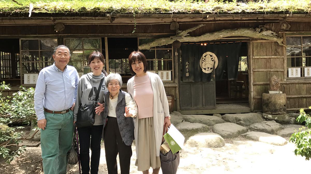 유이치 형제 여행 사진