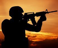 군인의 모습
