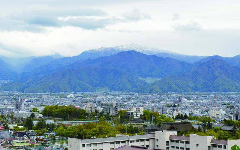 일본 나가노 지역