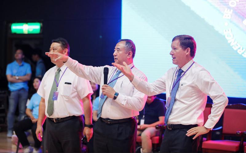북 아시아 지역 회장단
