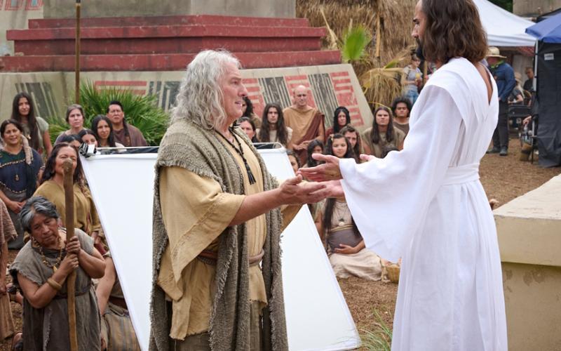'몰몬경 비디오 시즌 4' 예수 그리스도께서 미대륙의 백성들을 방문하다