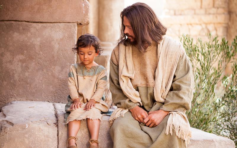 예수님과 아이