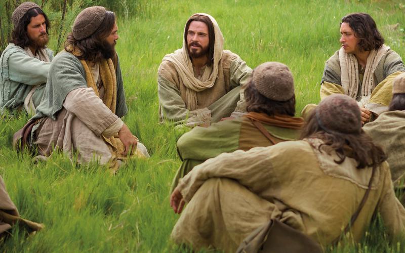 제자들을 가르치는 예수 그리스도