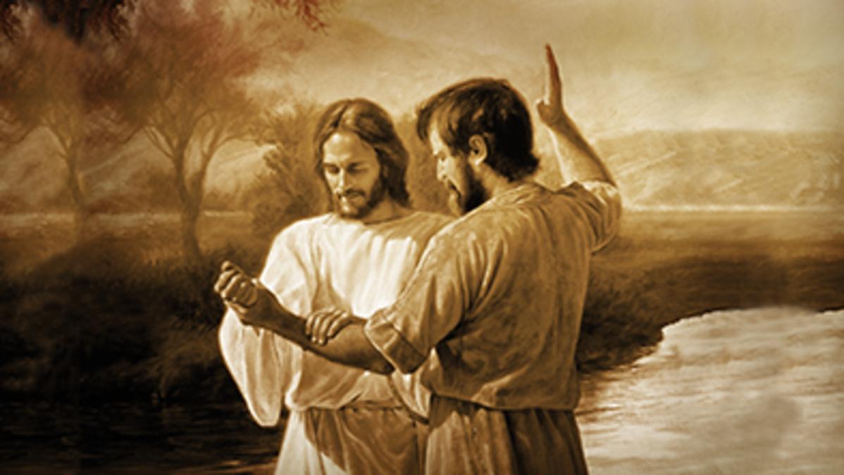 침례 요한과 예수의 침례