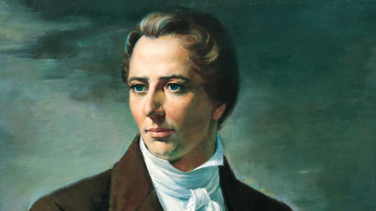 José Smith fue un profeta que vivió en Estados Unidos a principios del año 1800.