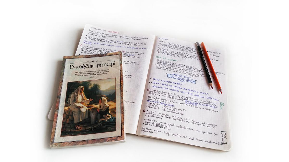Svētdienas skola - Evaņģēlija principi (Rīgas 1. draudze)