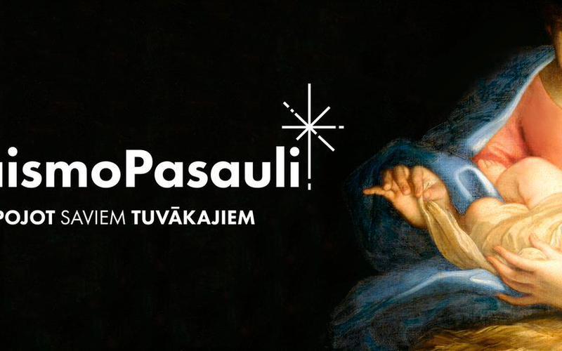 Jēzus Kristus piedzimšanas stāsts jaunā un skaistā video.