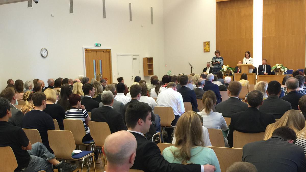 Vilniuje gegužės 21 ir 22 dienomis vyko Lietuvos apygardos konferencija