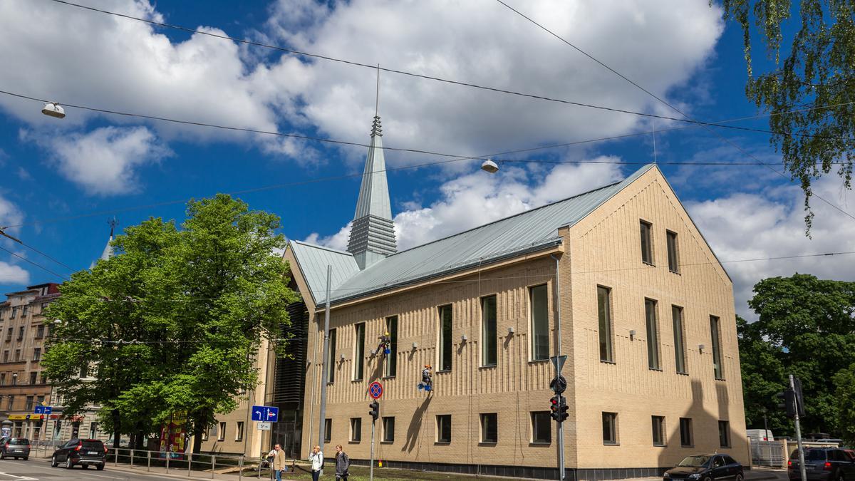 Nauji Bažnyčios susirinkimų namai Rygoje