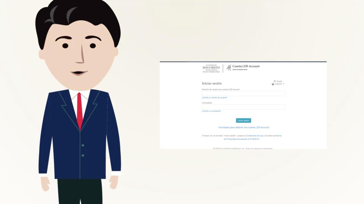 Cómo crear tu LDS Account