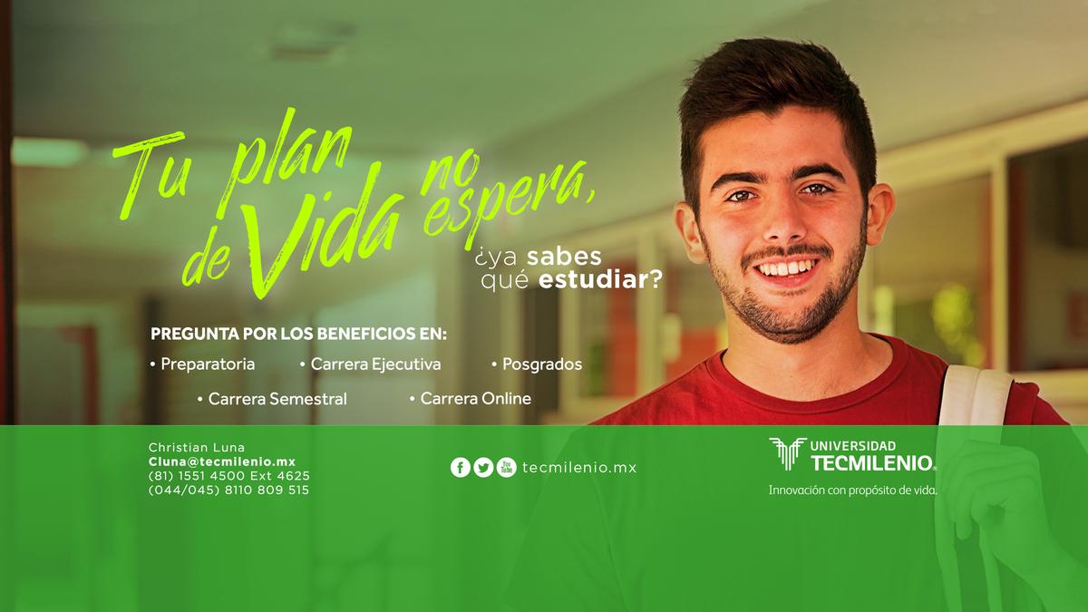 Banner convention educativo TecMilenio