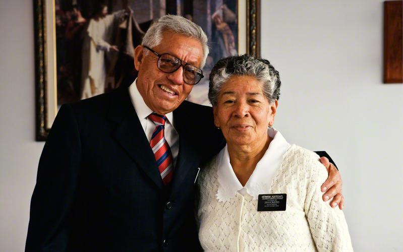 Matrimonio mayor de misioneros