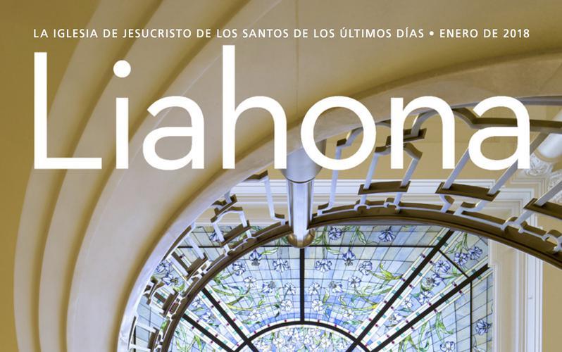 Portada revista Liahona de enero 2018.