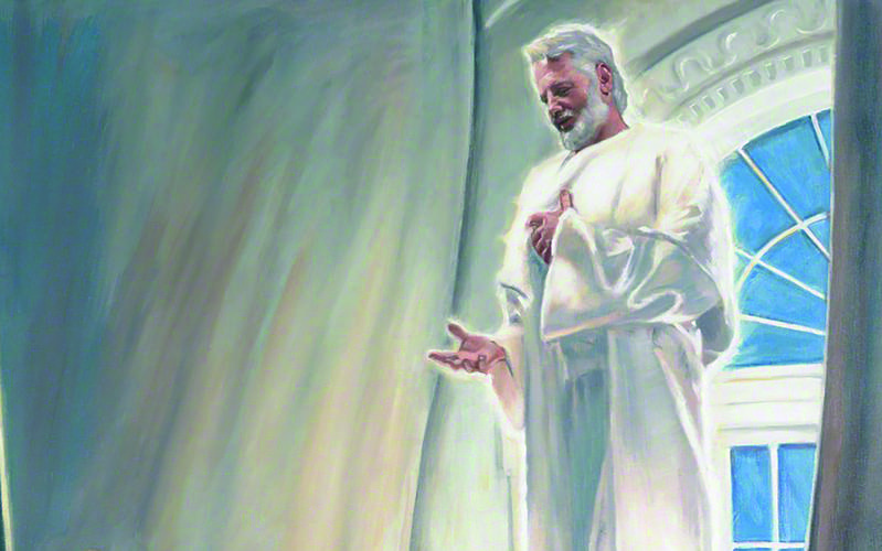 Elías se aparece en el Templo de Kirtland