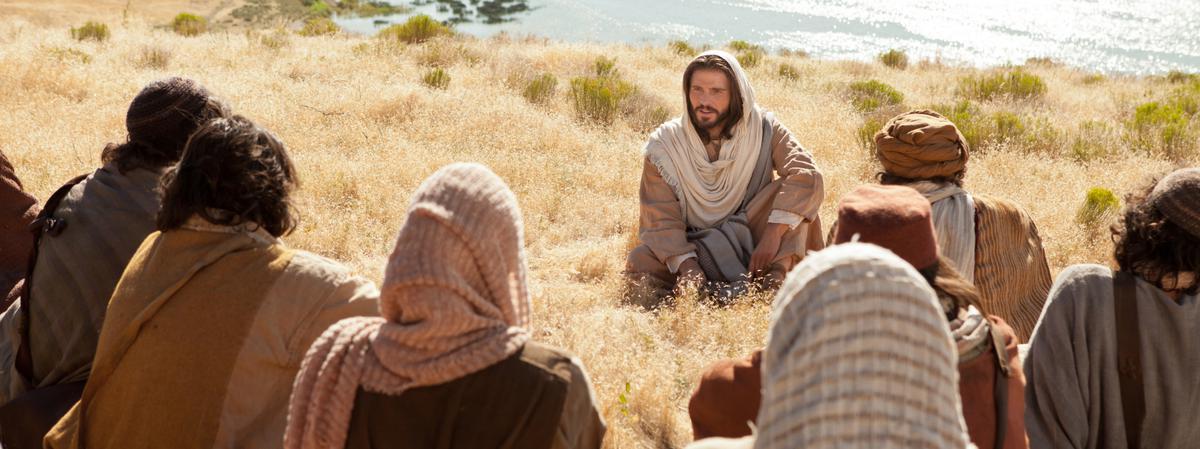 Jesucristo enseñando