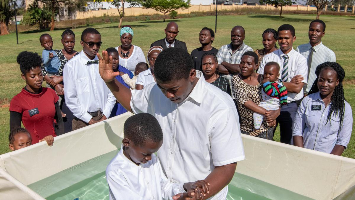 Bautismo en África