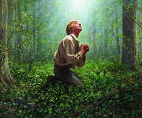 Primera visión: José Smith ve a Dios y Jesucristo.