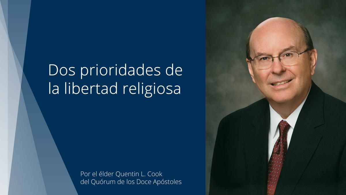 Fragmento del discurso sobre libertad religiosa pronunciado por el élder Quentin L. Cook