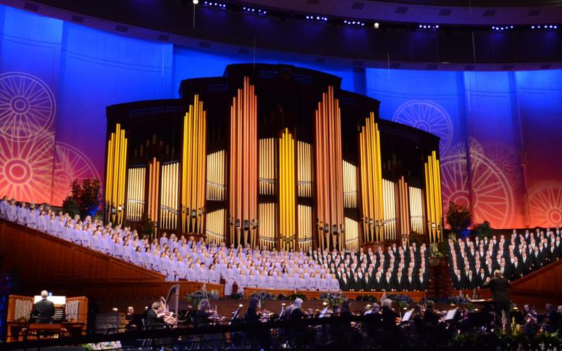Coro del Tabernáculo y la Orquesta de la Manzana del Templo