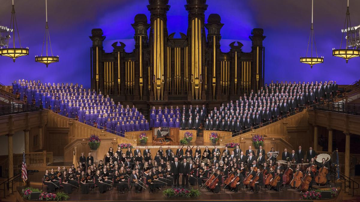 El Coro del Tabernáculo y la Orquesta de la Manzana del Templo