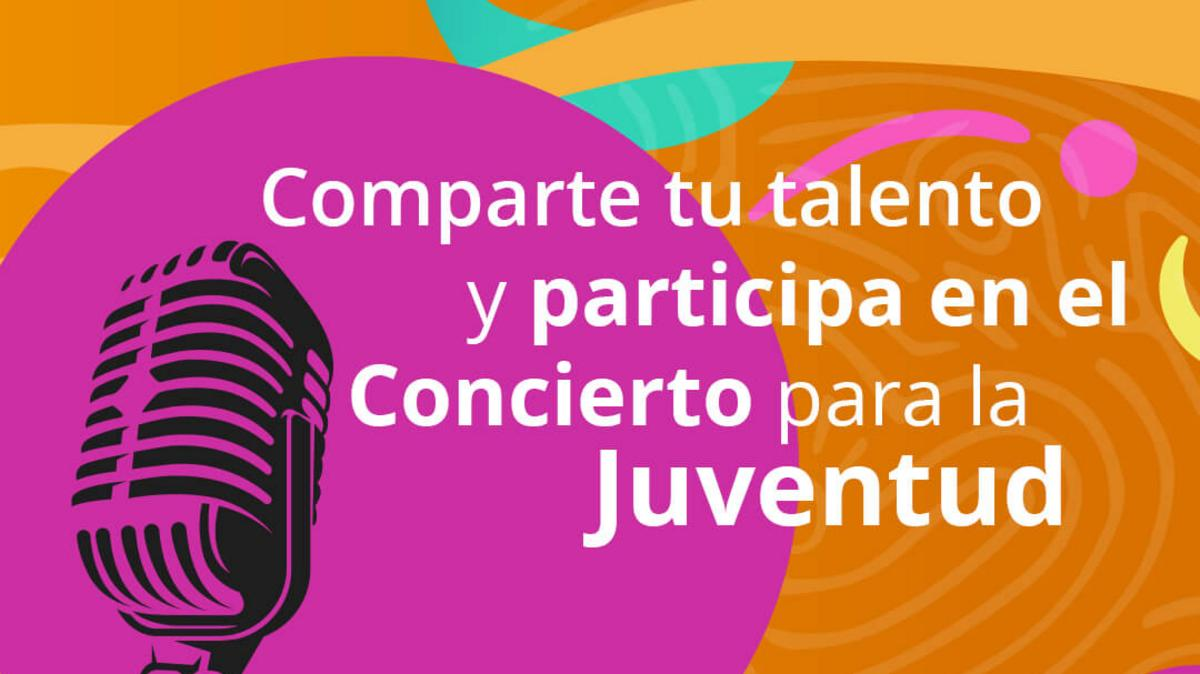 ¡Comparte tu talento!